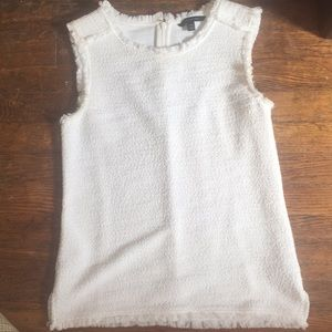 Banana Republic boucle shell top